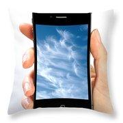 Cloud Computing Throw Pillow