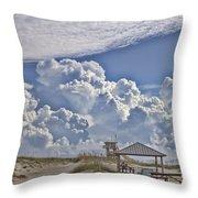 Cloud Merge Throw Pillow
