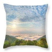 Cloud Sea Throw Pillow