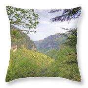 Cloudland Canyon Throw Pillow