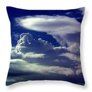 Clouds - 02 Throw Pillow
