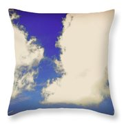 Clouds-10 Throw Pillow