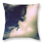 Clouds-11 Throw Pillow