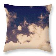 Clouds-2 Throw Pillow