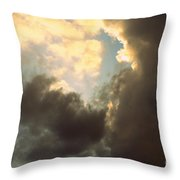 Clouds-4 Throw Pillow