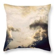 Clouds-9 Throw Pillow