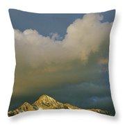 Clouds Above Mount Wilson Throw Pillow