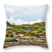 Clouds And Dunes Throw Pillow