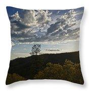 Clouds At Sunset II Throw Pillow