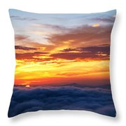Clouds From Haven. Throw Pillow