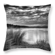 Clouds In The Lowcountry Throw Pillow