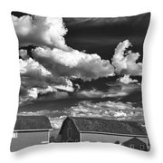 Clouds Over Knox 13804b Throw Pillow