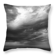 Clouds Over The Sea Throw Pillow
