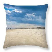Clouds That Speak Throw Pillow