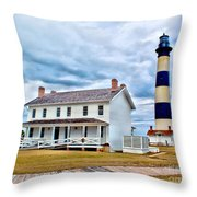 Cloudy At Bodie Throw Pillow