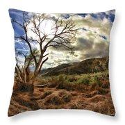 Cloudy Valley  Throw Pillow