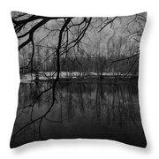 Clover Pond Throw Pillow