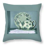 Clover Tea  Throw Pillow