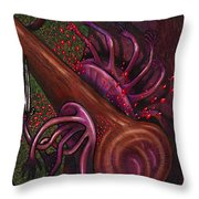 Club Smashes A Naphal Throw Pillow by Al Goldfarb