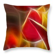 Cluisiana Tulips Triptych Panel 1 Throw Pillow