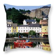 Co Cork, Kinsale Throw Pillow