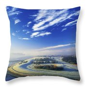 Co Derry, Ireland High Angle View Of Throw Pillow