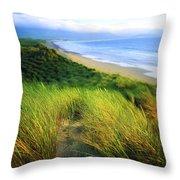 Co Kerry, Castlegregory Sandunes Throw Pillow