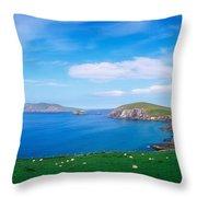 Co Kerry, Dingle Peninsula, Slea Head & Throw Pillow