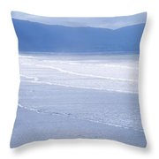 Co Kerry, Inch Beach, Ireland Throw Pillow