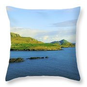 Co Kerry, Ireland Landscape From Throw Pillow