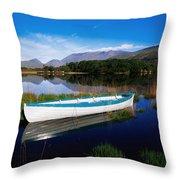 Co Kerry, Lakes Of Killarney Throw Pillow