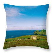 Co Kerry, Ring Of Kerry Skelligs & Throw Pillow