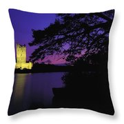 Co Kerry, Ross Castle, Killarney Throw Pillow
