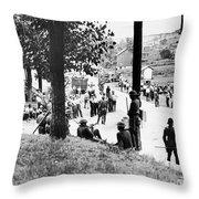 Coal Strike, 1933 Throw Pillow