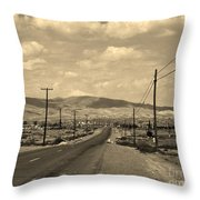 Coalinga Throw Pillow