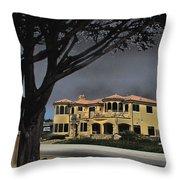 Coastal Architecture One Throw Pillow