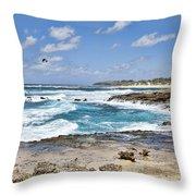 Coastal Kauai Throw Pillow