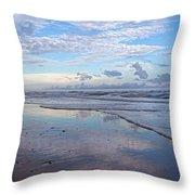Coastal Reflections Throw Pillow