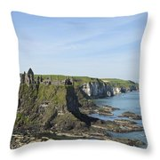 Coastal Seascape Throw Pillow