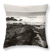 Coastal Tide Throw Pillow