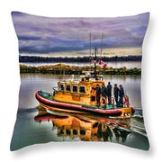 Coastguard Hdr Throw Pillow