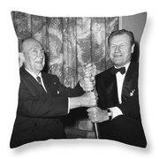 Cobb & Rockefeller, 1960 Throw Pillow