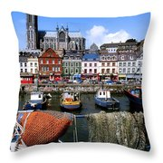 Cobh, Co Cork, Ireland, Cobh Cathedral Throw Pillow