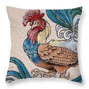 Cock A Doodle Doo Throw Pillow