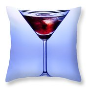 Cocktail Throw Pillow by Jane Rix