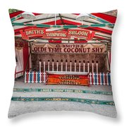 Coconut Shy Throw Pillow