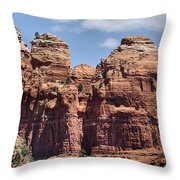 Coffee Pot Rock Formation Throw Pillow