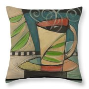 Coffee Puts You To Sleep Poster Throw Pillow