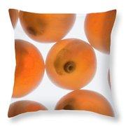 Coho Salmon Oncorhynchus Kisutch Eggs Throw Pillow