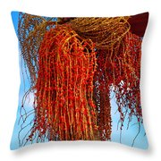 Coiffure Throw Pillow